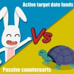 Are investors moving away from active target date funds into their passive counterparts?