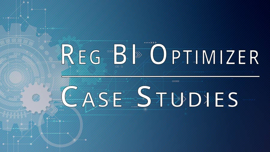 Reg BI Optimizer Case Study