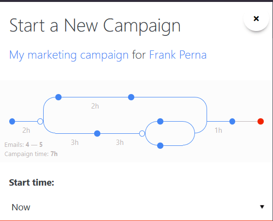 Exhibit 3: Select a Campaign You Want to Send. Campaign Snapshot Summary
